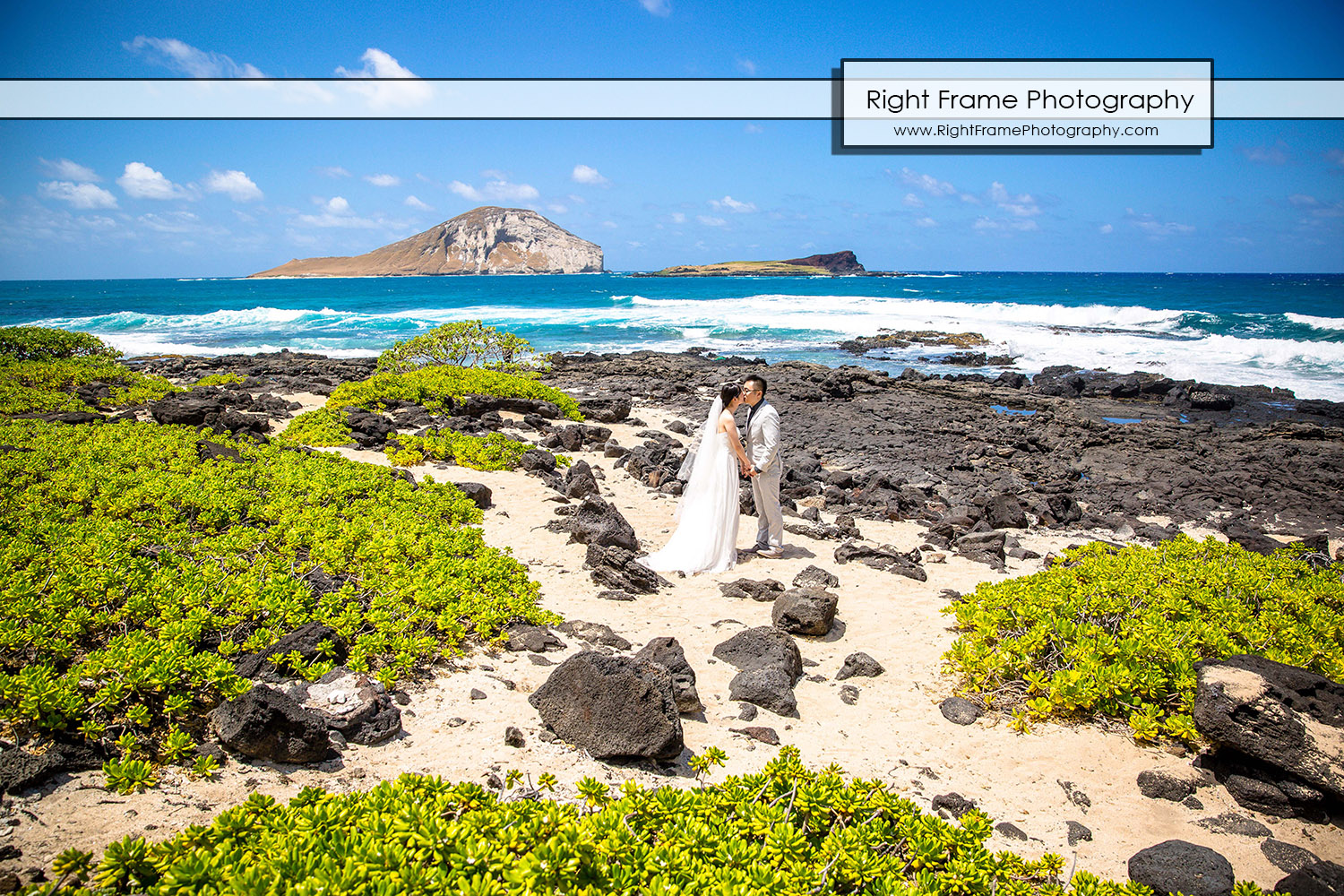 Hawaii Beach Wedding Photos Makapuu Beach