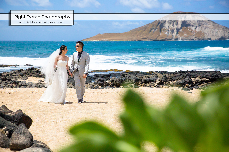 Hawaii Beach Wedding Photos Makapuu Beach