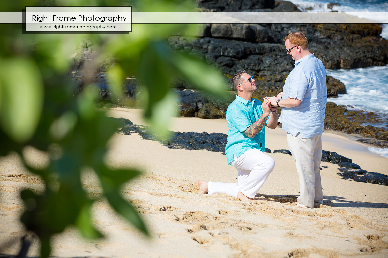He Asked He Said Yes Hawaii Proposal in Hawaii