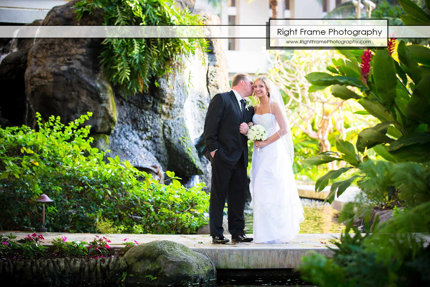 Waikiki Wedding in Akala Chapel Hilton Hawaiian Village