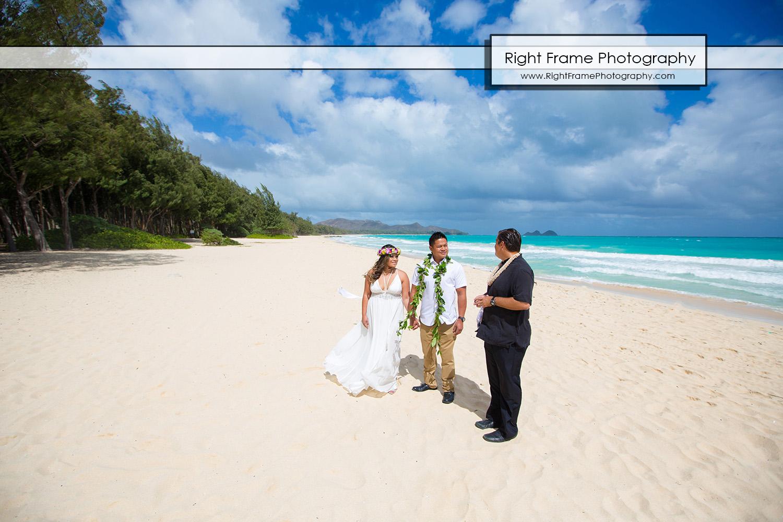 Hawaiian Vow Renewal Ceremony Oahu Hawaii