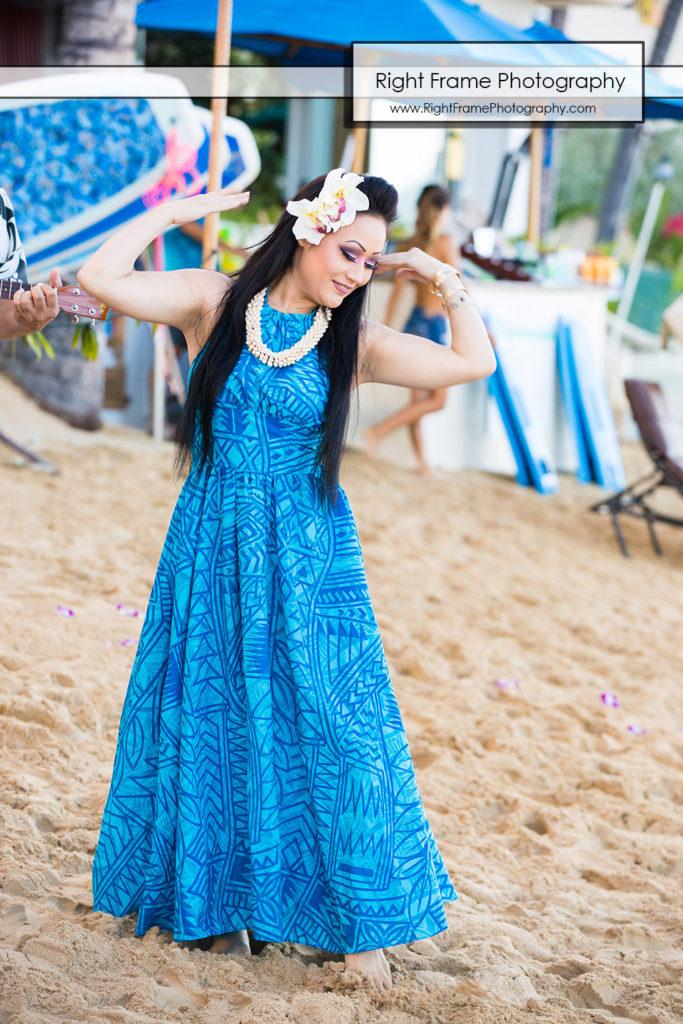 Vow renewal at Outrigger Reef Waikiki Beach Resort