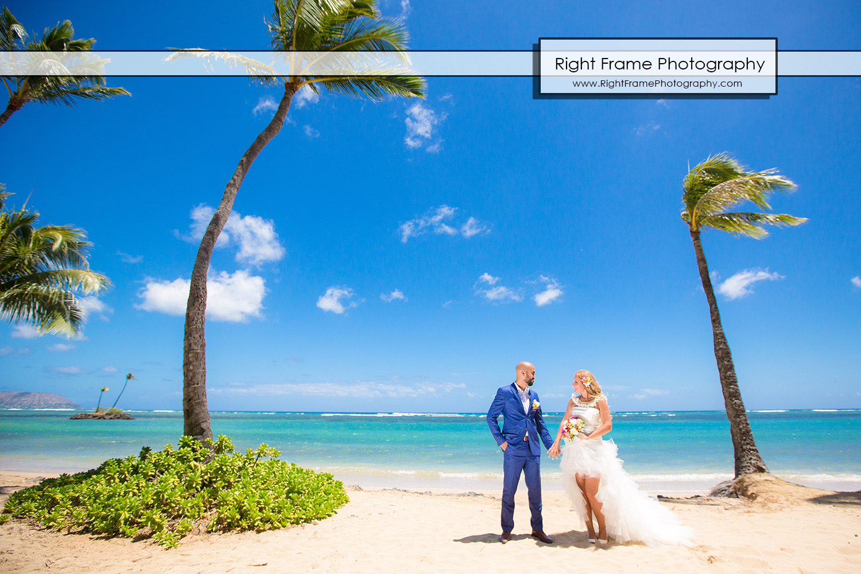 Sierpniowy ślub i sesja plenerowa na Hawajach
