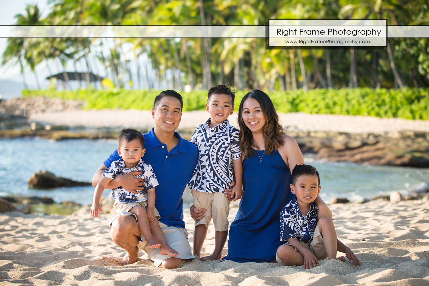 Professional Family Photographer near Four Seasons Oahu at Ko'olina