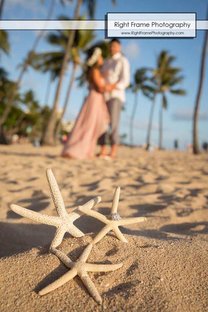 Engagement Photos near The Modern Honolulu Hotel Waikiki Beach