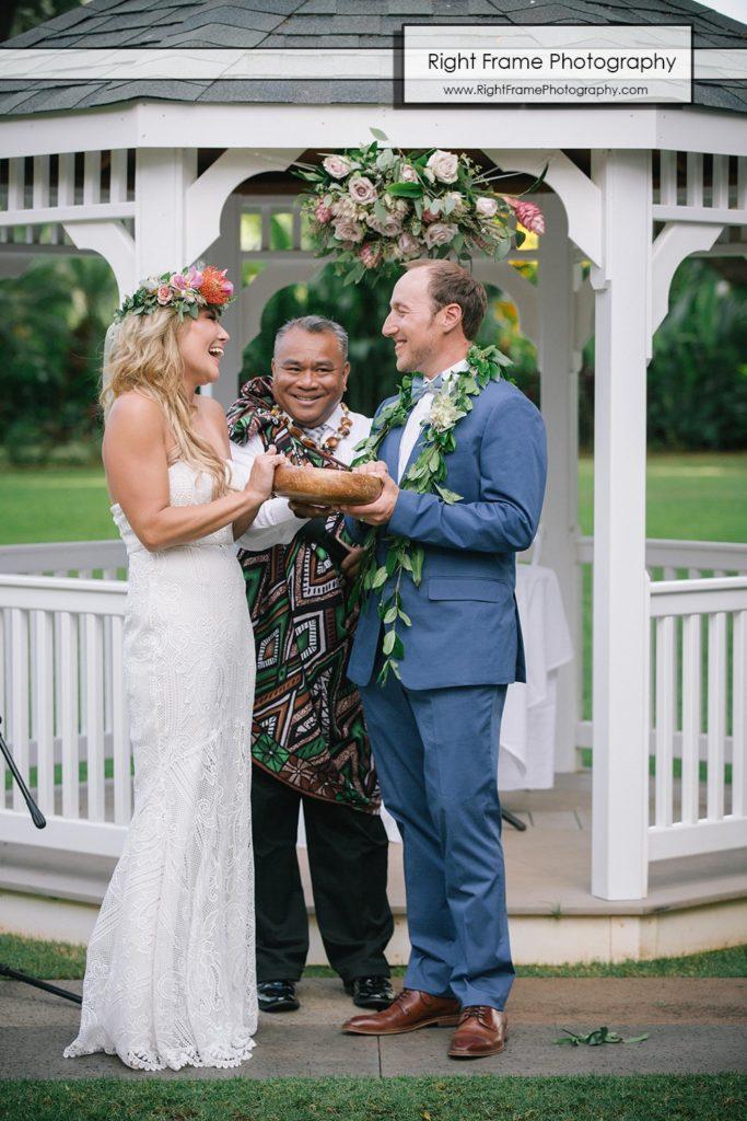 Hale koa wedding garnde rev Jofrey Rabanal