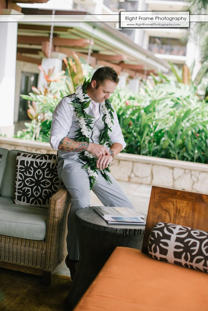 Intimate Wedding Ceremony At Paradise Cove Luau Ko Olina Oahu By