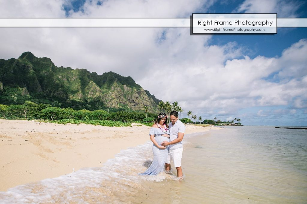 affordable Oahu Maternity Photographer Hawaii Photography photos dress Honolulu
