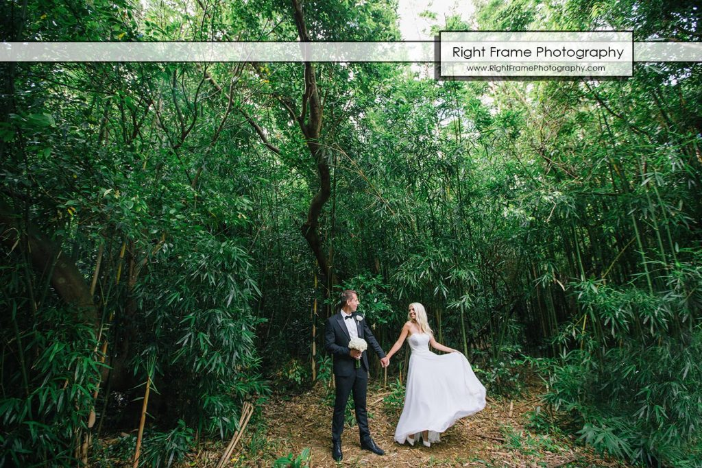 Small and Intimate Oahu Wedding at bamboo forest Hawaii