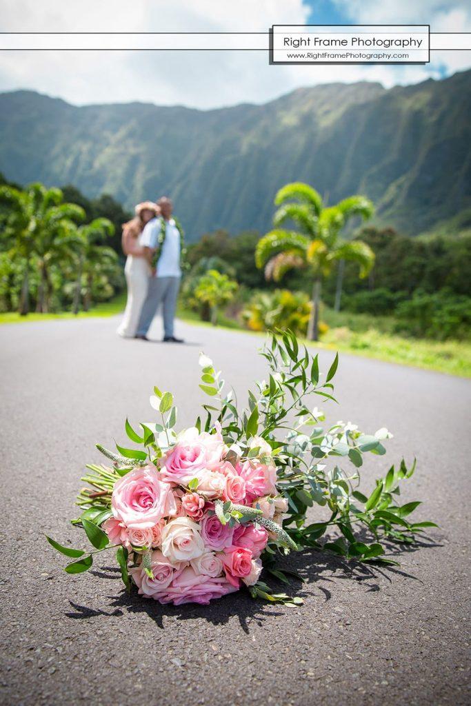 Hoomaluhia Botanical Garden Wedding Kaneohe Oahu Hawaii