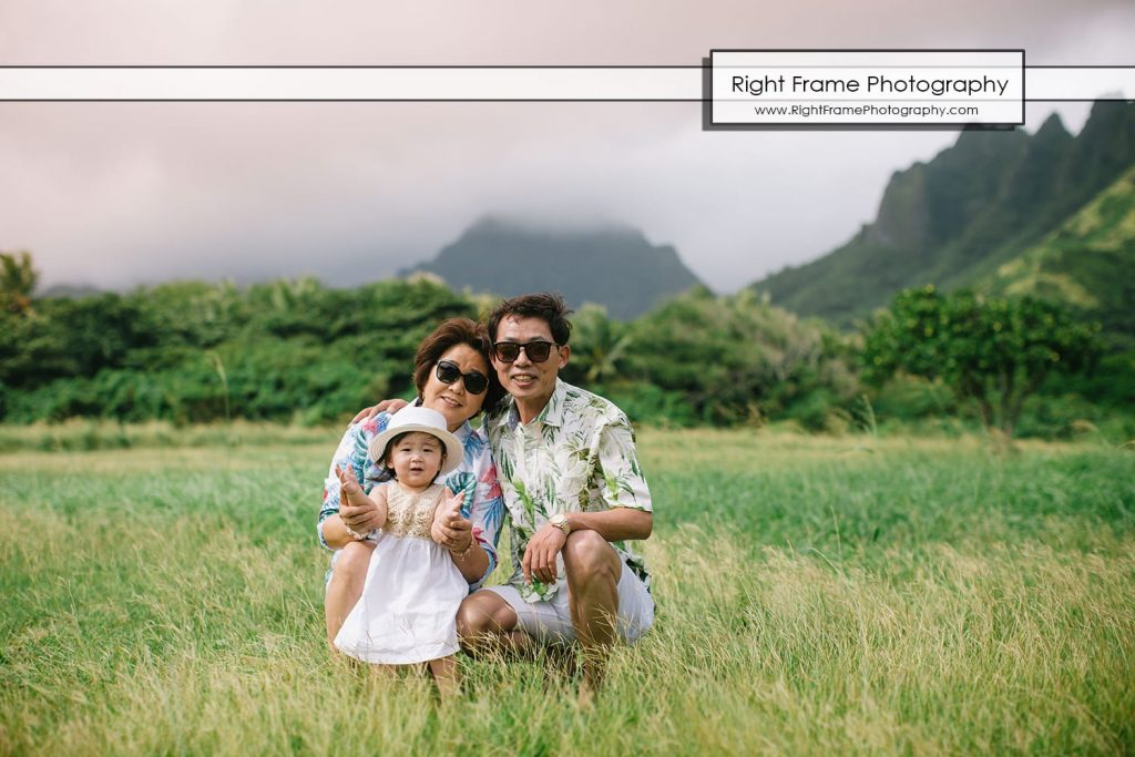 Kualoa regional Park family photographer