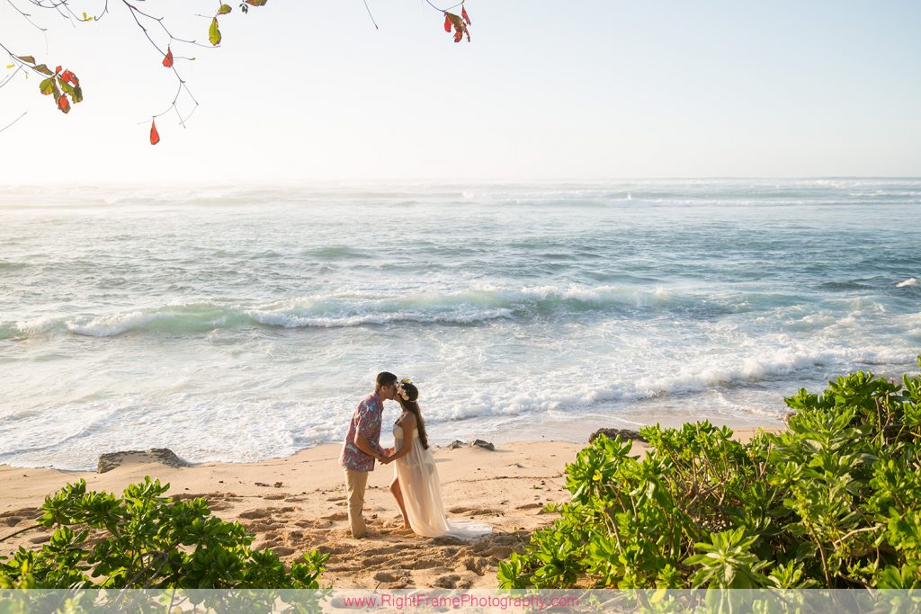 Hawaii Beach Maternity Portraits