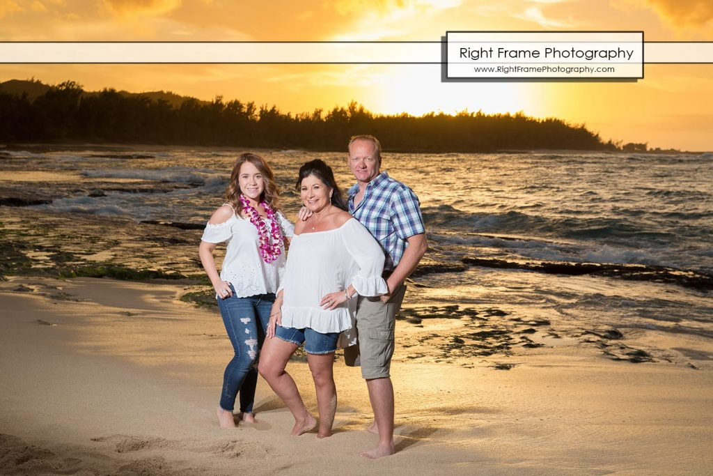 Oahu Large Group Family Photography