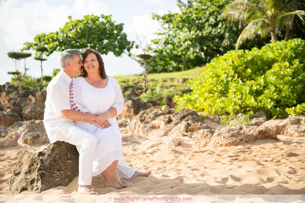 25th Anniversary photo shoot in Hawaii
