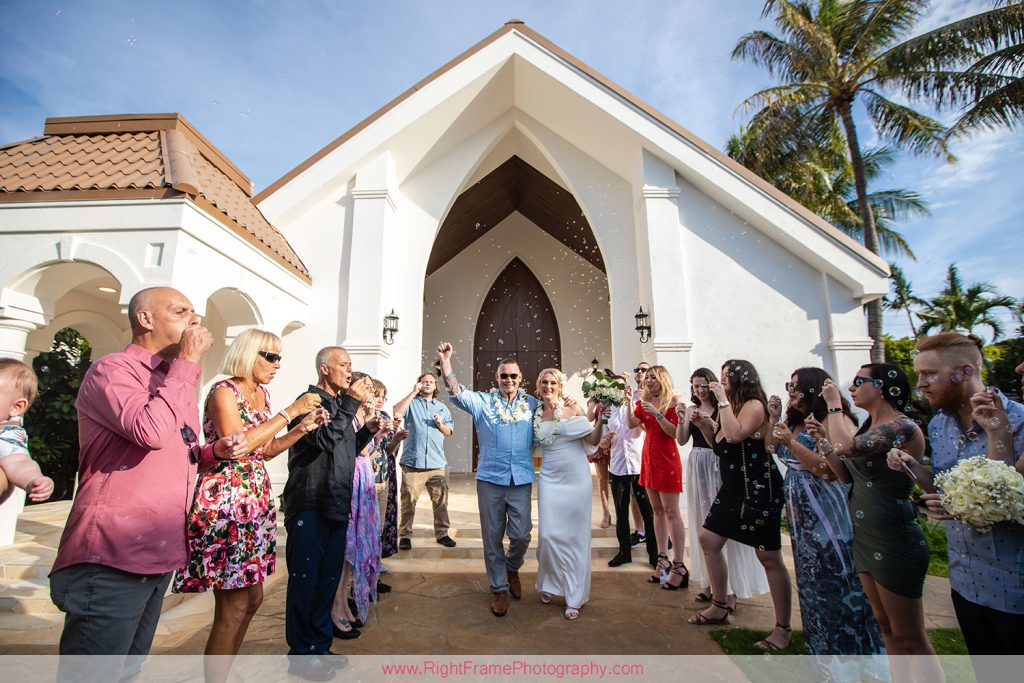 Wedding at Anela Gardens Chapel