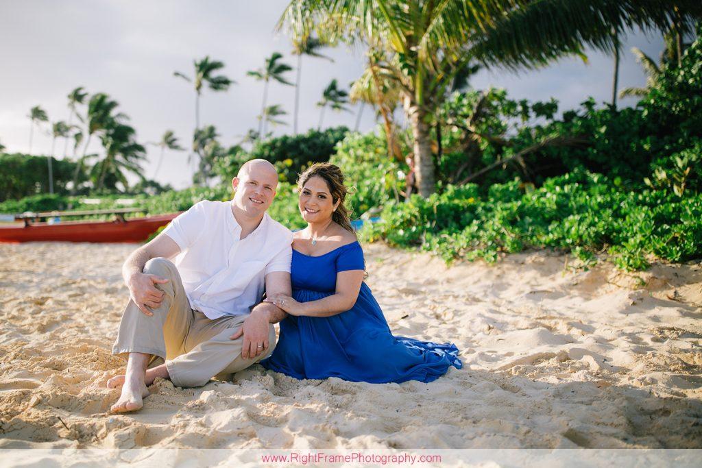 Maternity Photography Oahu LANIKAI BEACH