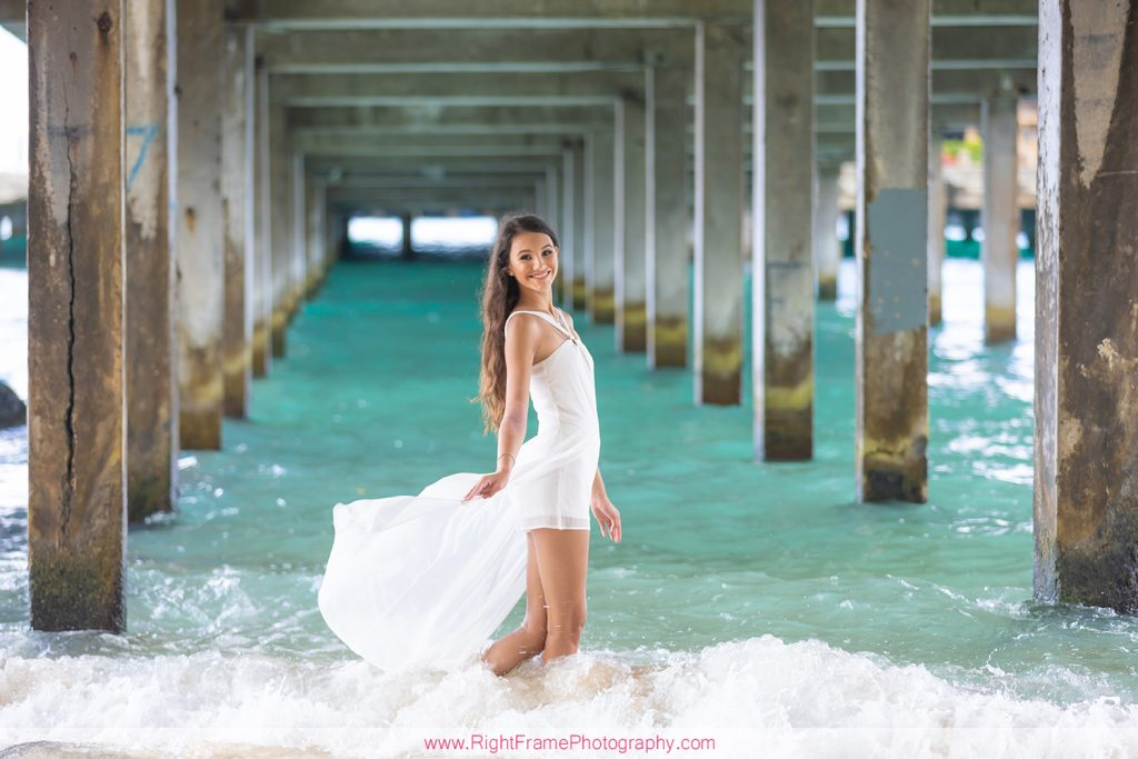 senior portraits hawaii Oahu