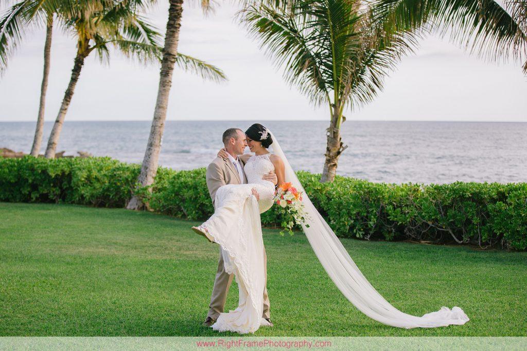 Wedding at Paradise Cove Luau Ocean Garden