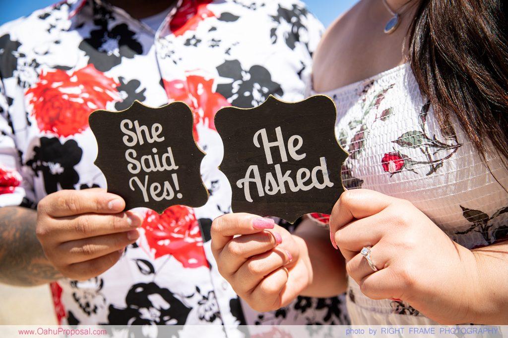 Secret Proposal Photography in Hawaii Oahu