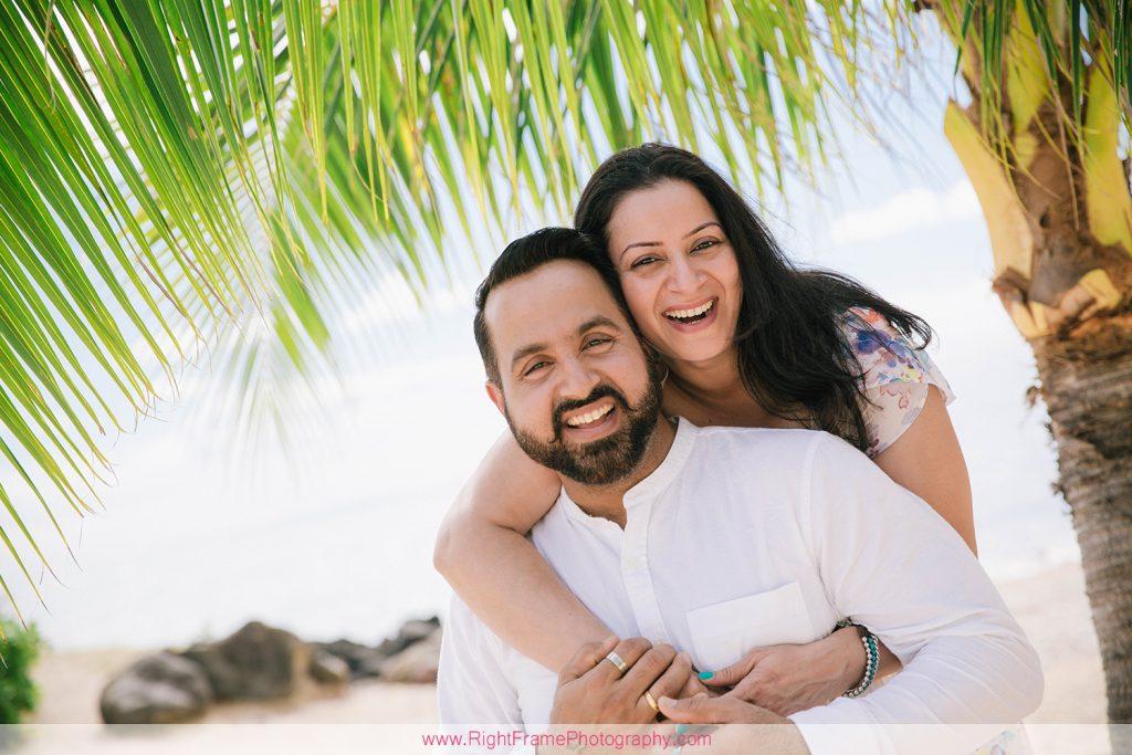 Last Minute Family Photo Shoot at Kahala Beach Oahu