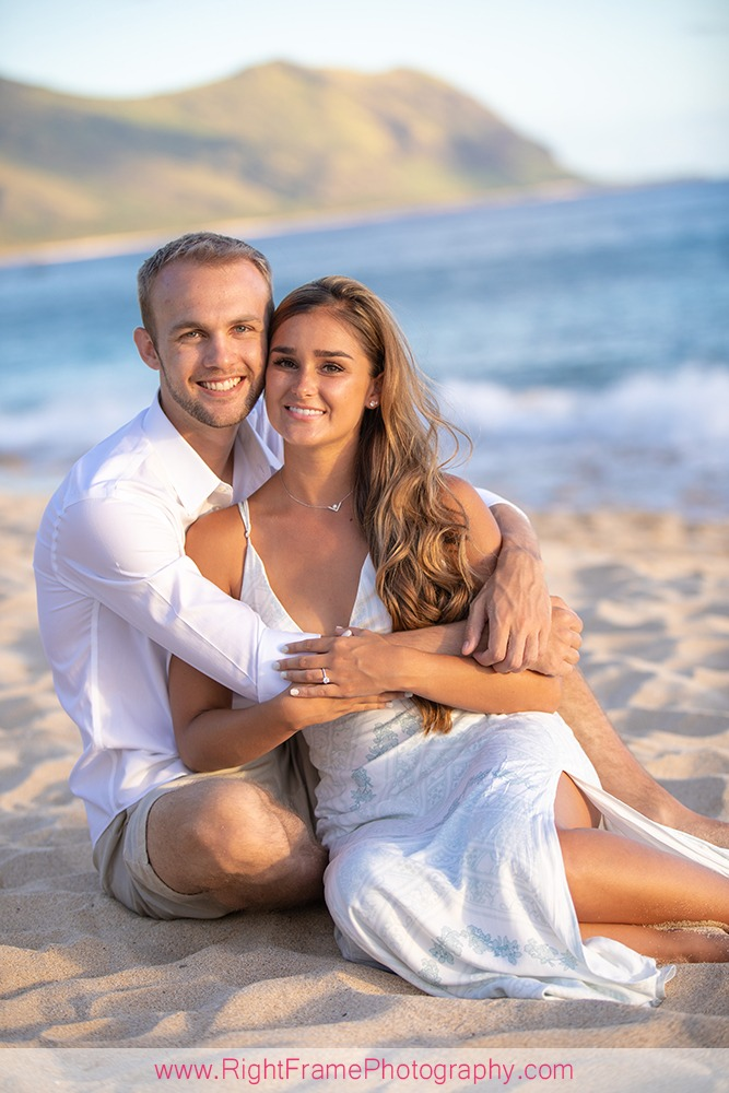 Destination Engagement Photography Hawaii