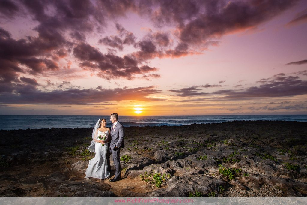 Turtle Bay Wedding Photos Oahu Hawaii b