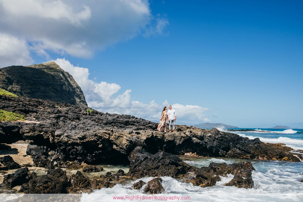 Hawaii Engagement Photoshoot at Makapu'u Beach