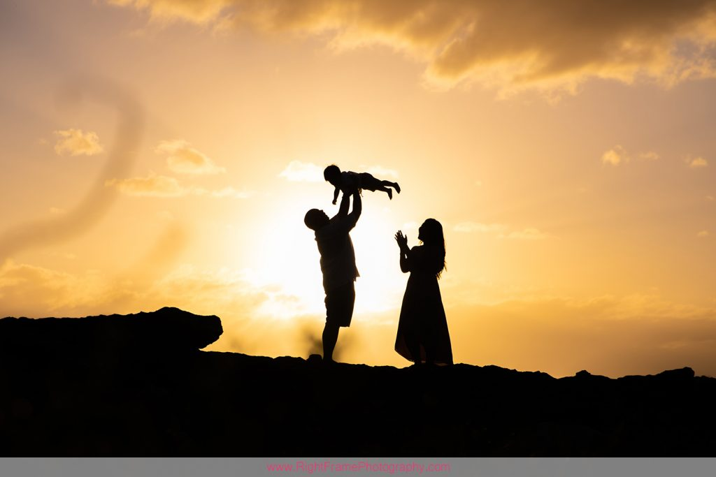 Family Photographers in Ko olina Hawaii Sunset