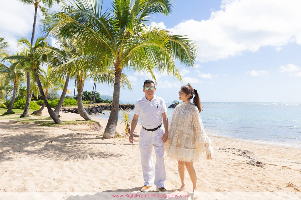 30th Wedding Anniversary Photography on Oahu