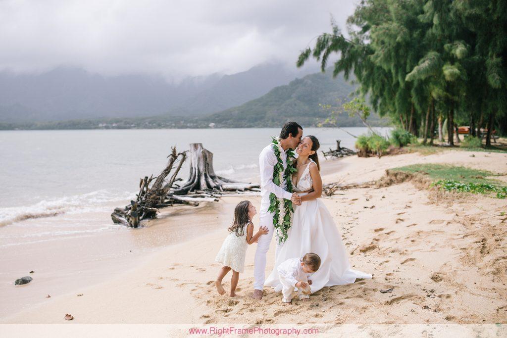 KUALOA BEACH PARK FAMILY PHOTOGRAPHY