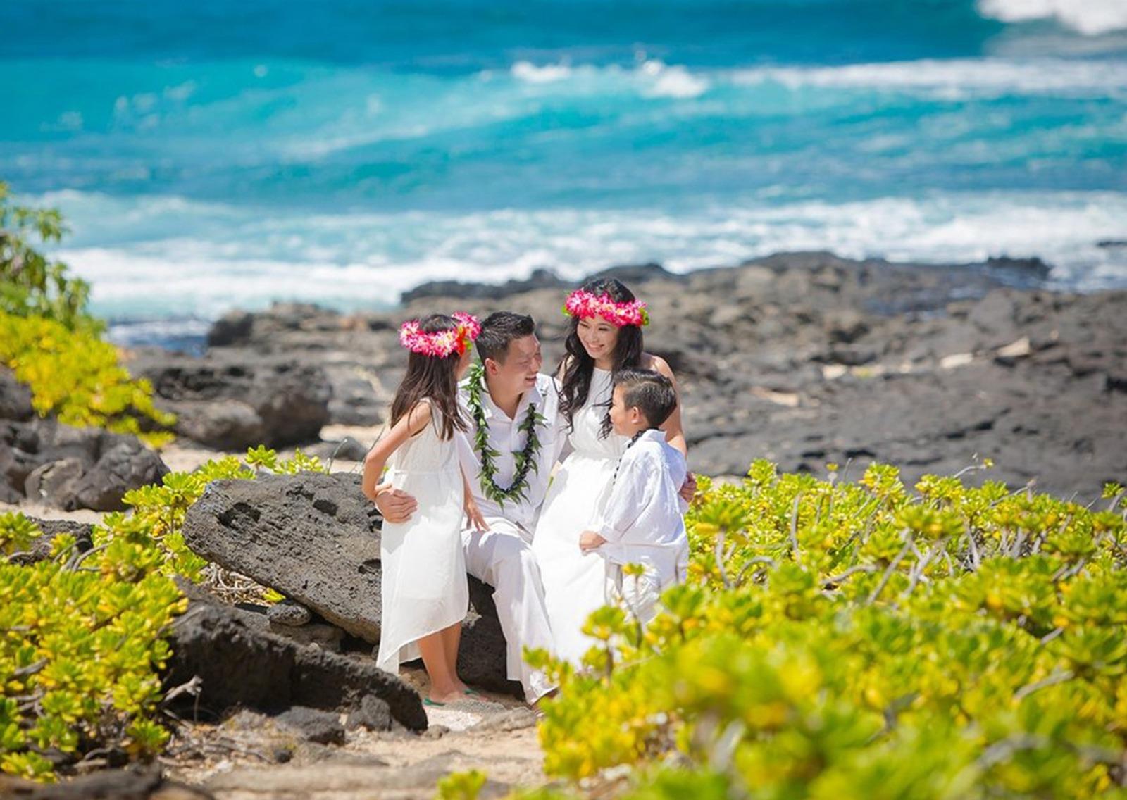 Oahu Vow Renewal Photographer