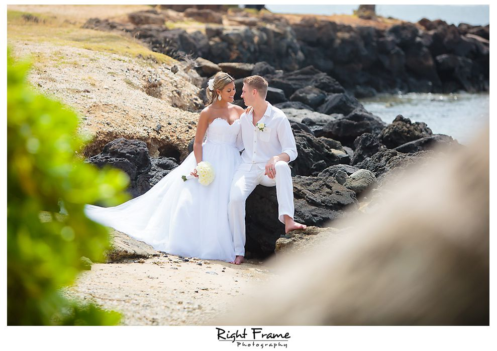 116 Kahala Beach Wedding Oahu Photographer
