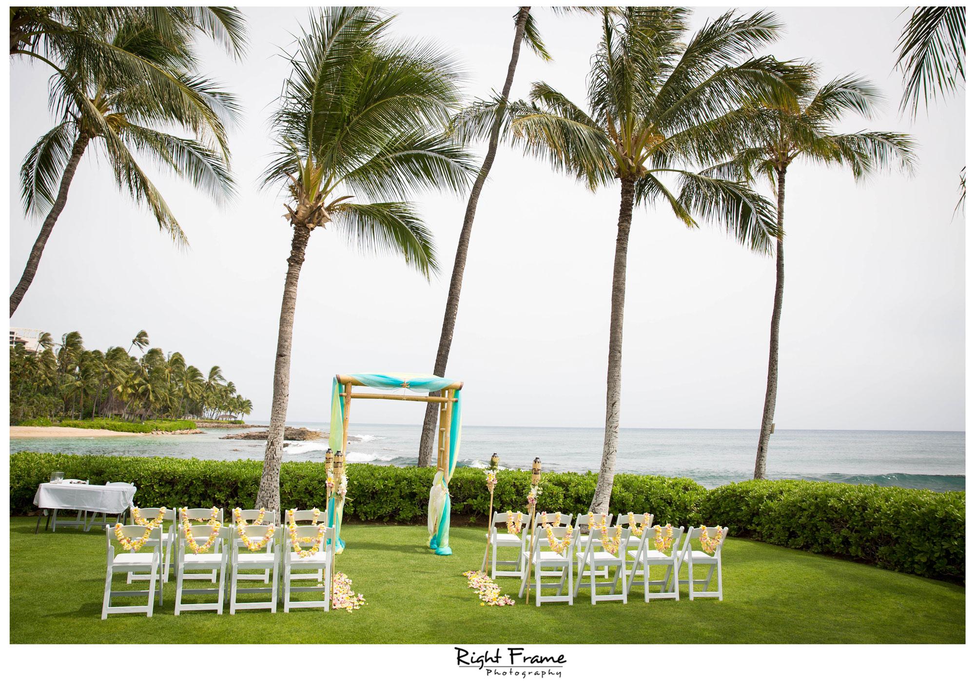 Paradise Cove Disney Aulani Hawaii Wedding